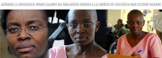 Candidatura de VICTOIRE INGABIRE UMUHOZA para el Premio Sakharov 2012